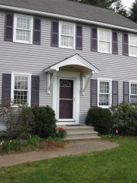 Overhang/canopy/awning/hood over front door. | For the ...