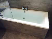 Tiled bath panel | Baths | Pinterest | Bath panel and Bath