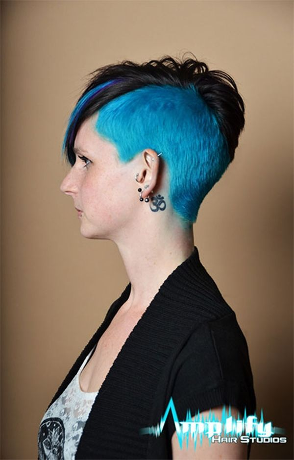 50020216 Shaved Side Hairstyle Hairstyles Pinterest