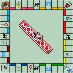 monopoly board game  Google Search   Road Trips
