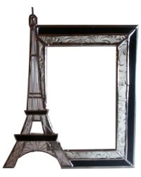 eiffel-tower-picture-frame-unique-vintage-styled-design ...