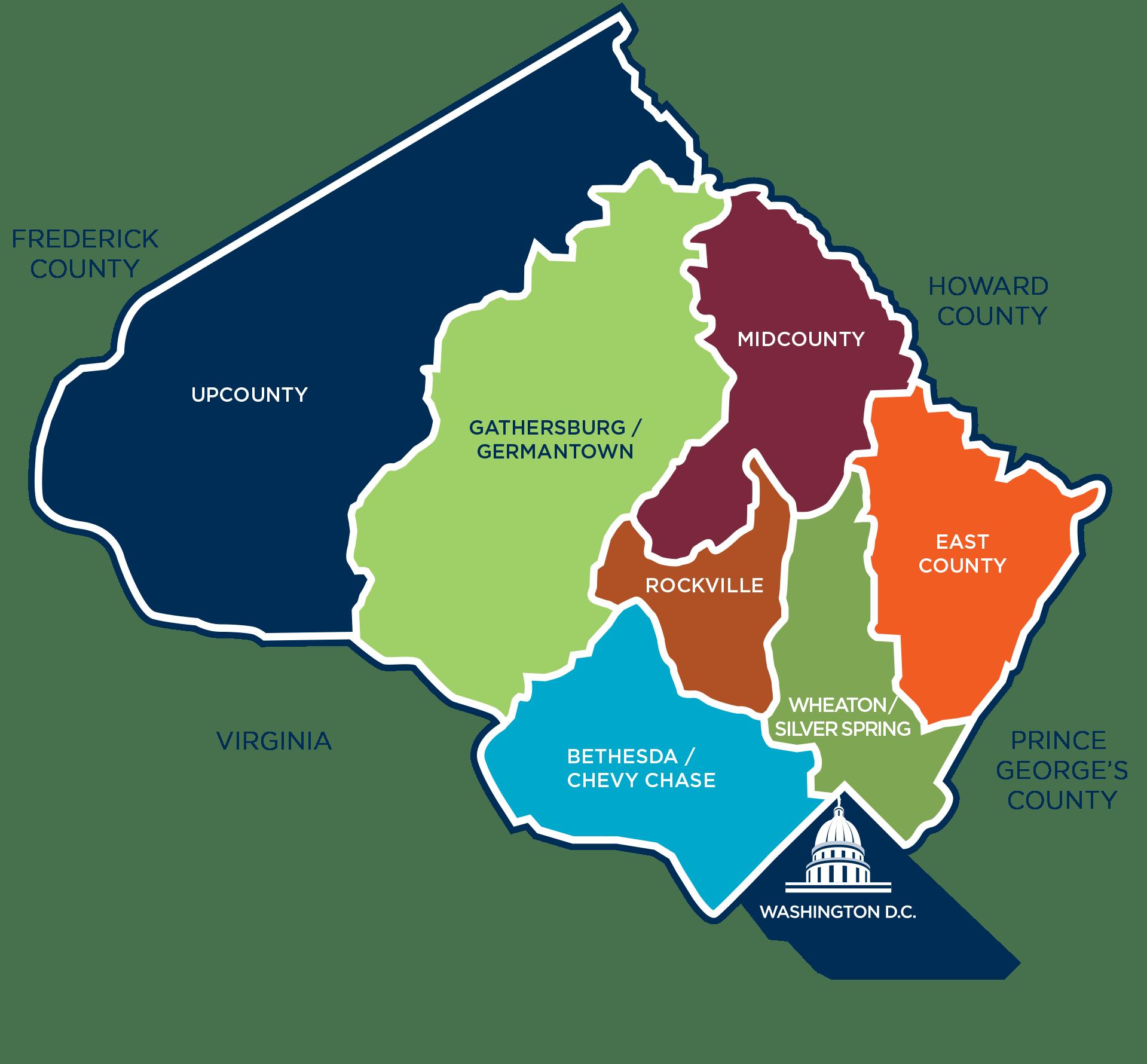 Montgomery County Tn Map