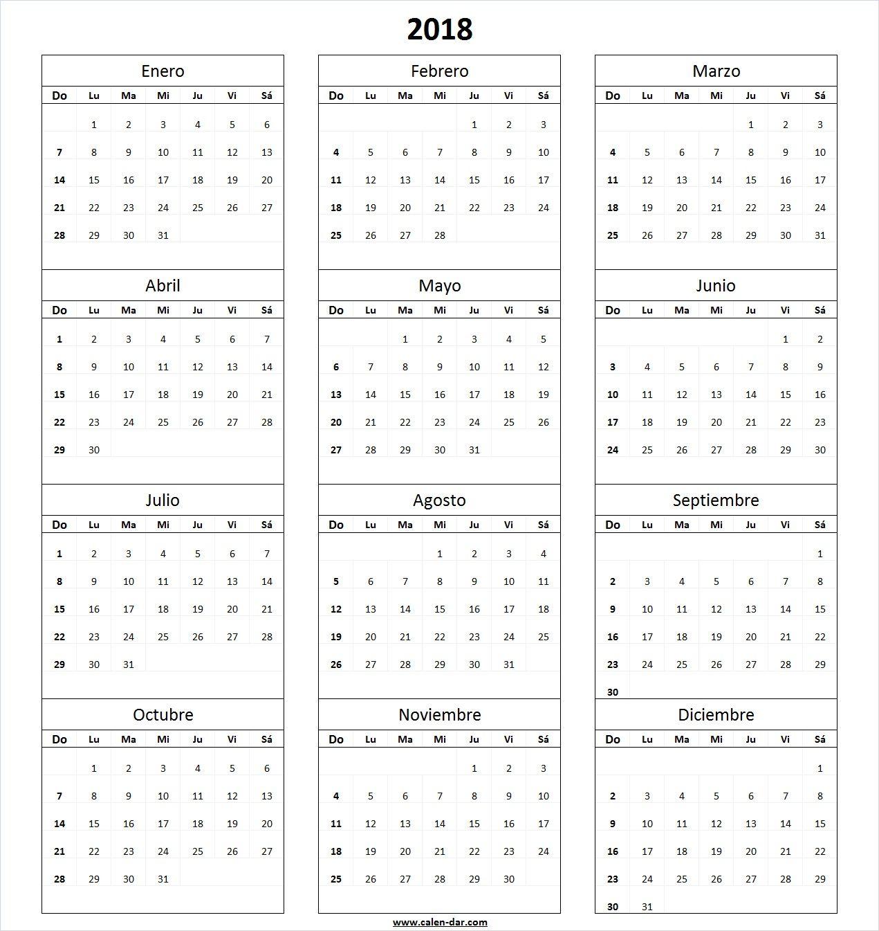 Calendario Mes Por Mes Para Imprimir Gratis