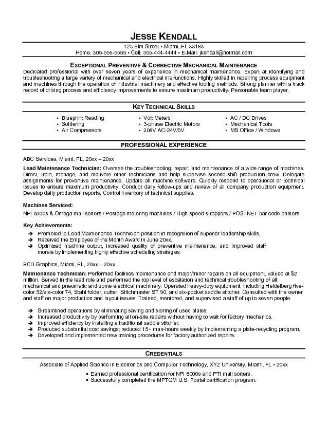 Licensed Aircraft Maintenance Engineer Sample Resume. S Media Cache Ak0  Pinimg Originals 0c