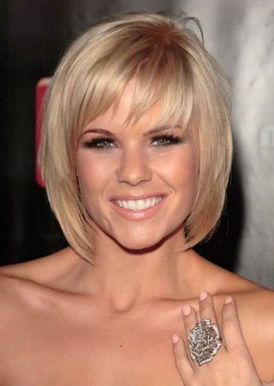 Short Length Blonde Hairstyles Page 1