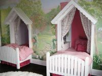 Twin-Canopy-Beds-for-Girls.jpg (1047784) | pitter patter ...