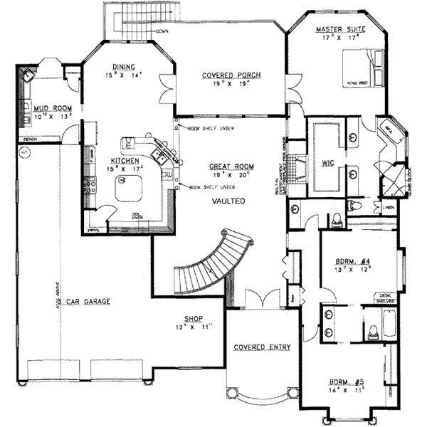 8 bedroom floor plan | design ideas 2017-2018 | pinterest | bedrooms
