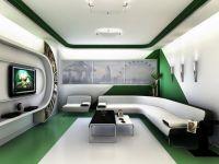 Futuristic Home Interior Design | ... Room Design Ideas ...
