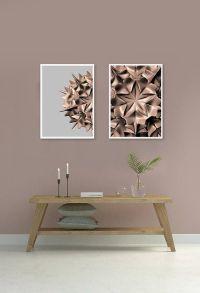 Blush Pink Wall Art, Printable Art, Mathematical Pattern