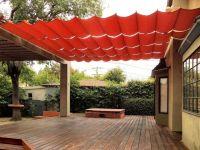 Fabric Wire Deck/Patio Canopy Ideas   hazel   Pinterest ...