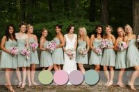 Top 6 Most Flattering Bridesmaid Dress Colors in Fall 2014