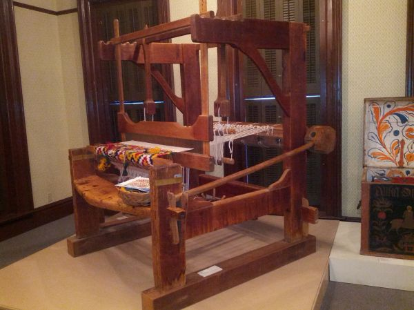 Beautiful Antique Barn Loom Vesterheim Museum Decorah