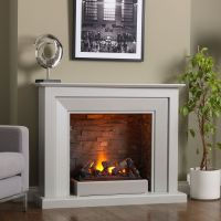 Venice Electric Fireplace Suite | kominek | Pinterest ...