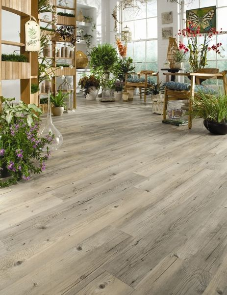 Vinyl flooring option. Hartsfield commercial grade floor