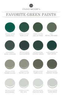 Ask Studio McGee: Our Favorite Green Paints | Benjamin ...