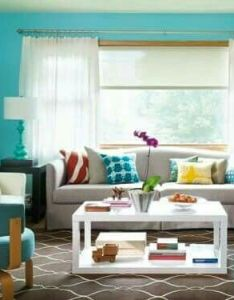 Wonderful turquoise color scheme for interiors living room at awesome colorful design ide also colourful pastel idea adoreoptapt pinterest rh