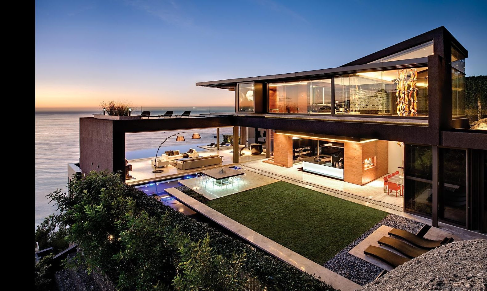 Outdoor Extravagant Landscape Ideas For Best Beach Houses
