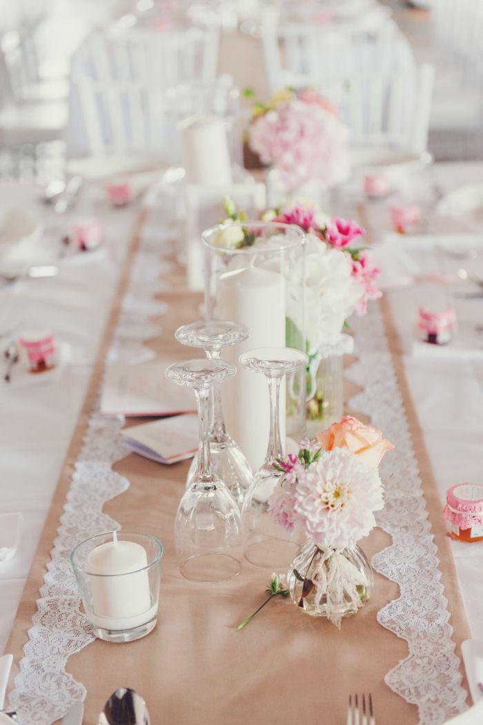 Dekoration Tisch Hochzeit