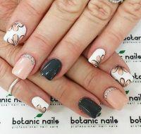 35 GRAY NAIL ART DESIGNS | White nail polish, Nail polish ...