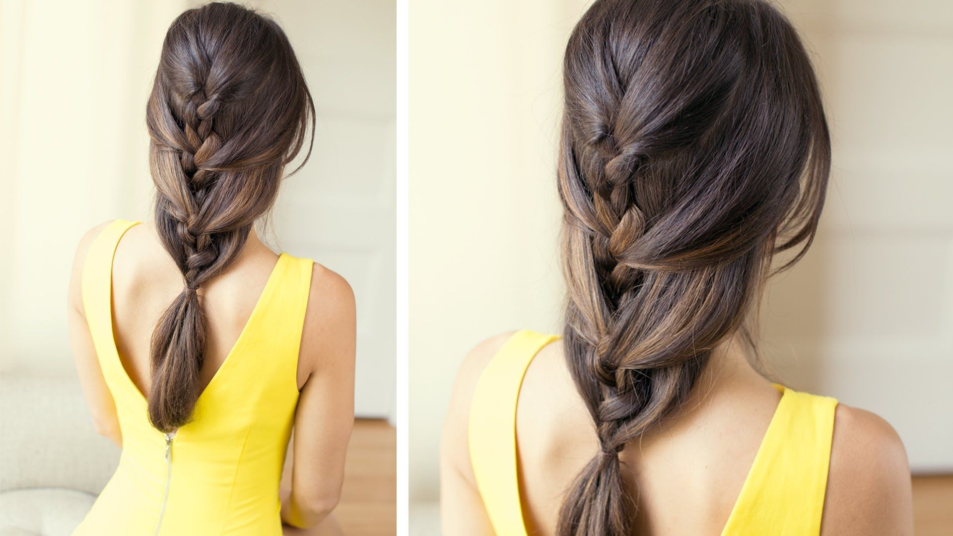 Simple Hairstyles with Braiding Hair