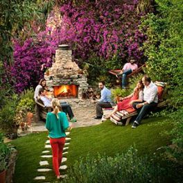 Image result for fireplace entertaining people
