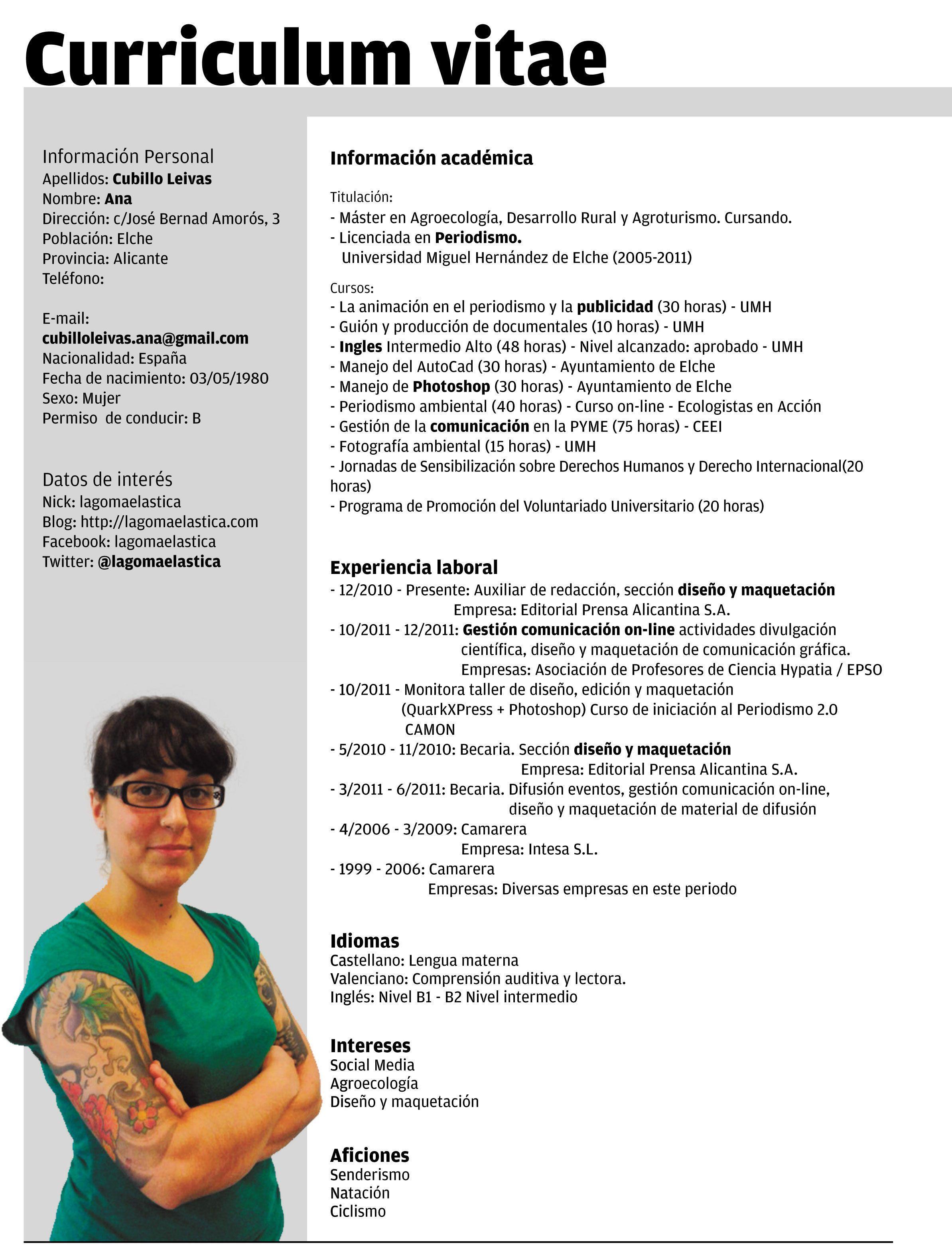 Sample Of Curiculum Vitae Pdf Sample Resume Service