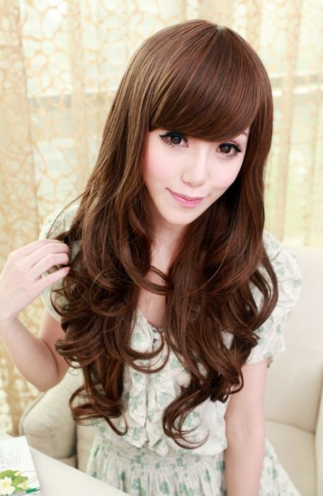 Hairstyles Pictures New Korean Girl Hairstyles With Long Hair