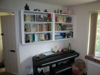 Wall Mounted Bookcase Ideas for Home Office: Hanging Wall ...