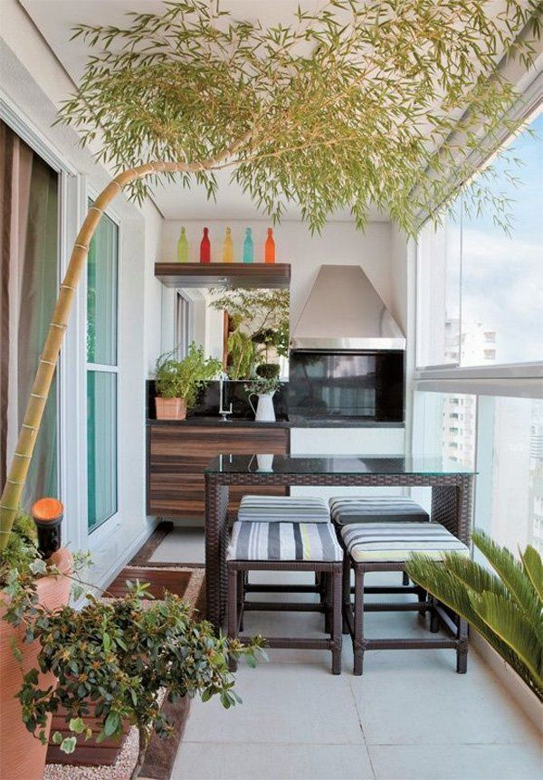 55 Apartment Balcony Decorating Ideas  Balconies Shelves and Apartment balconies