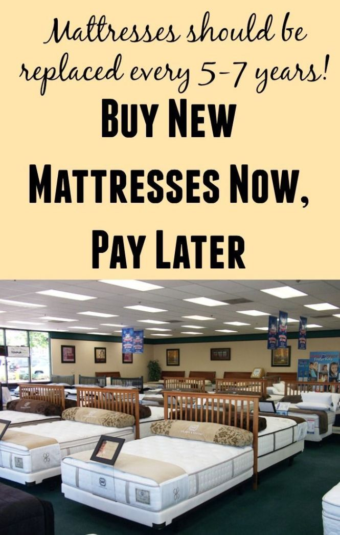 Mattresses Now Pay Later