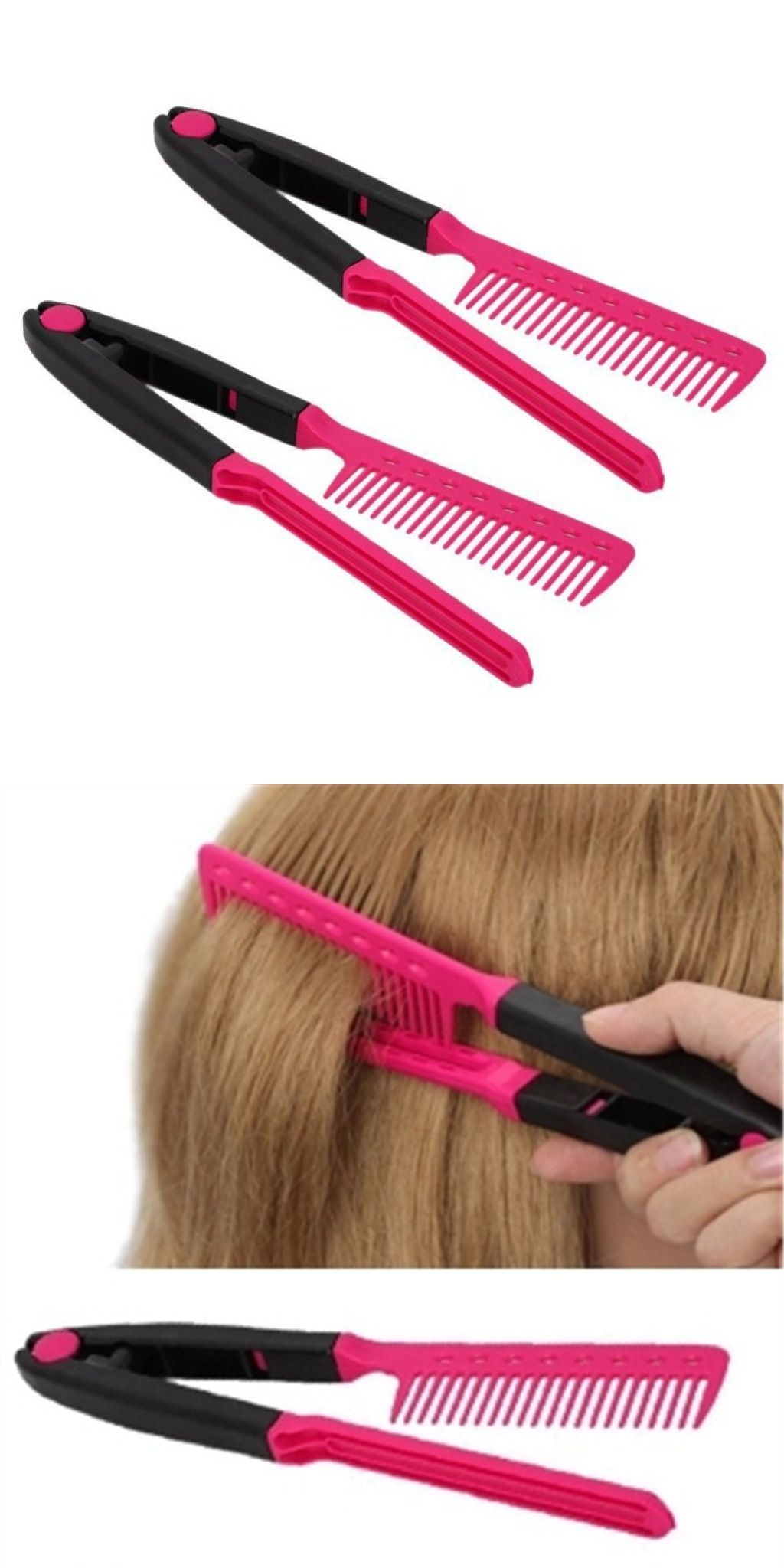Fashion V Type Hair b DIY Salon Hairdressing Styling Tool Curly
