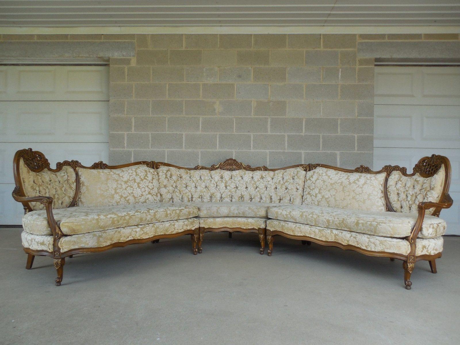 antique french sofa ebay lazy boy greyson leather reclining vintage corner oslo scandinavian