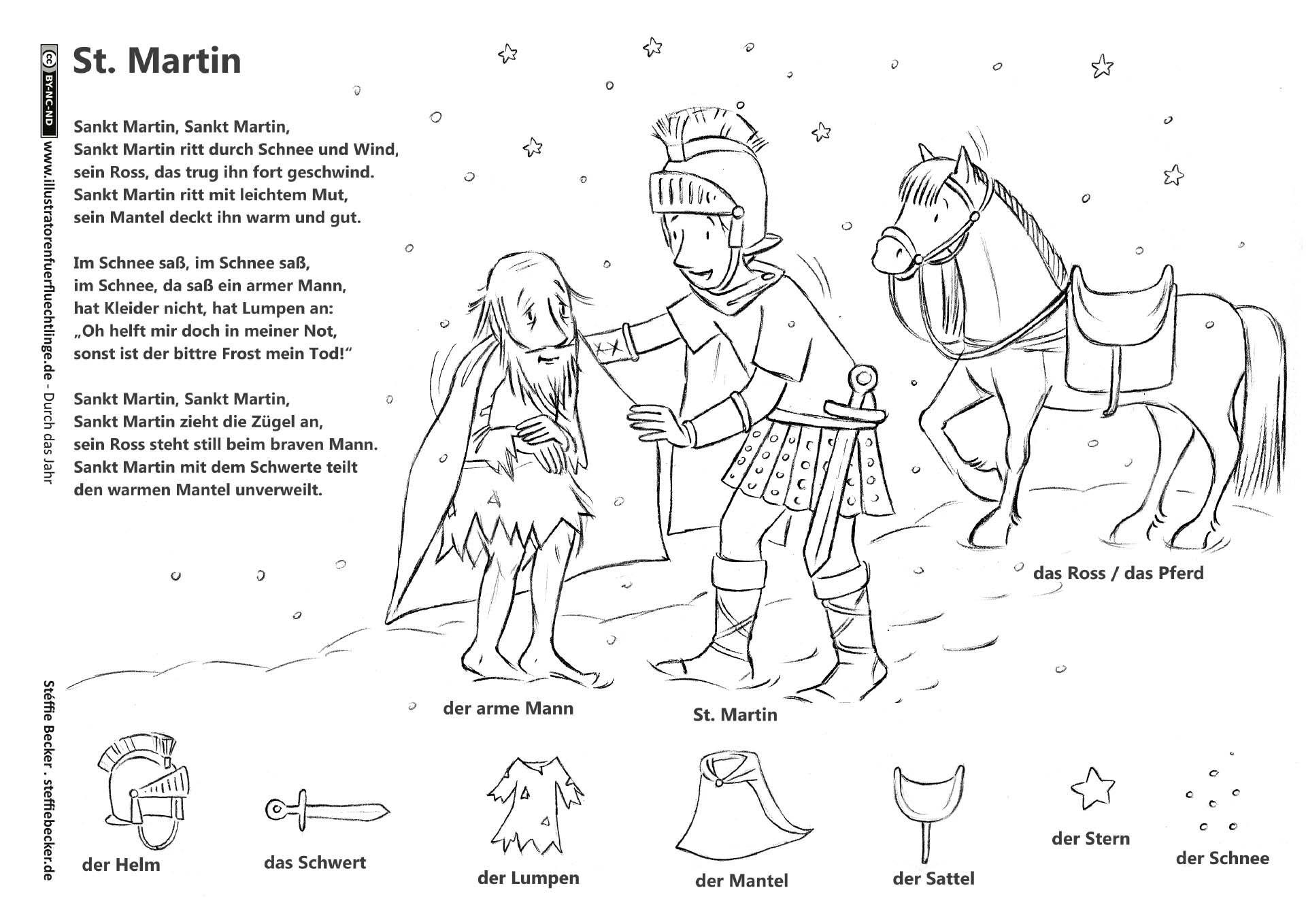 Download Als Durch Das Jahr Sankt Martin Legende