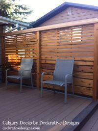 privacy deck railing ideas - Google Search | deck railing ...
