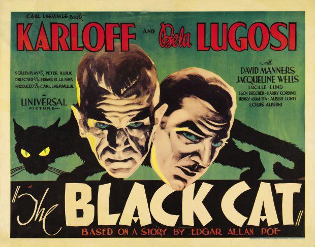 'O Gato Preto' (1934) Poster Oficial - Fonte: Tumblr