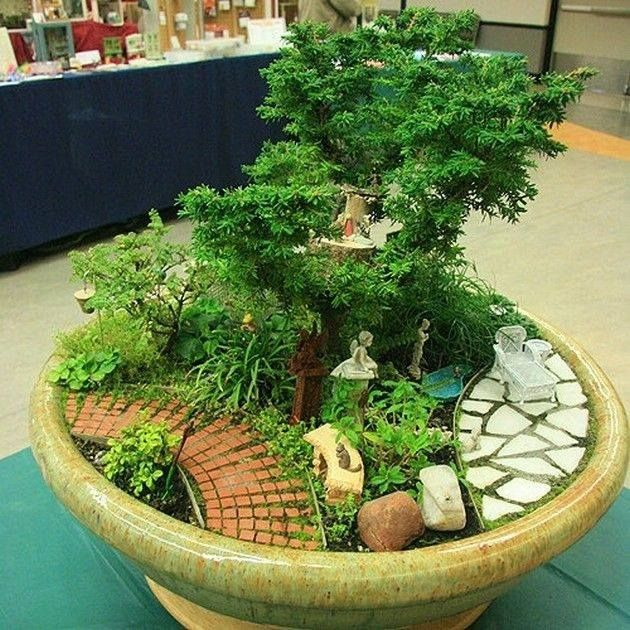 12 Creative Ideas To Make A Small Fairy Tale Garden For Your Home