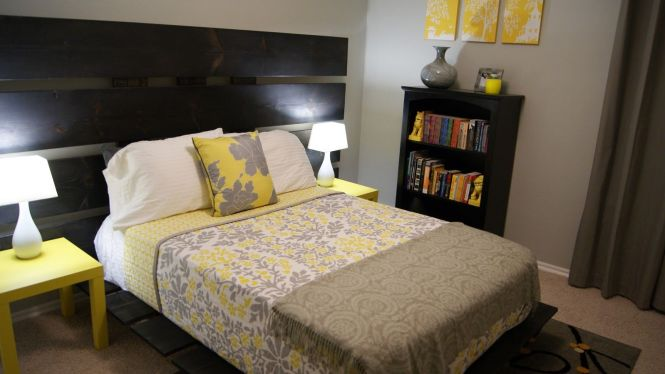 10 Best Images About Gray Yellow Bedroom Ideas On Pinterest Guest Rooms Lemon Sorbet And