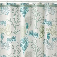 Color Scheme Inspiration! Beach Themed Shower Curtains Bing