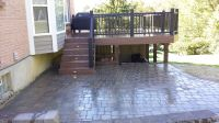 Deck and Patio combo | Our Work | Pinterest | Decking ...