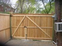 Wooden Privacy Gates