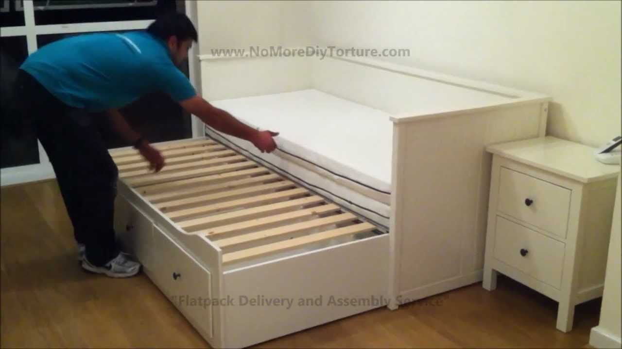 Hemnes Daybed Frame Sofa Single Bed Or Pulls Out To Make A