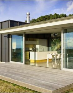 This holiday house has modular architectural it is designed by parsonson architects and located on pekapeka beach new zealand the design  re also architecture inspiring homes peka rh uk pinterest