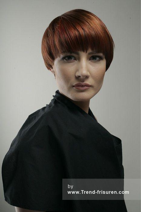 SAKS Kurze Rot Weiblich Gerade Farbige Bob Frauen Haarschnitt
