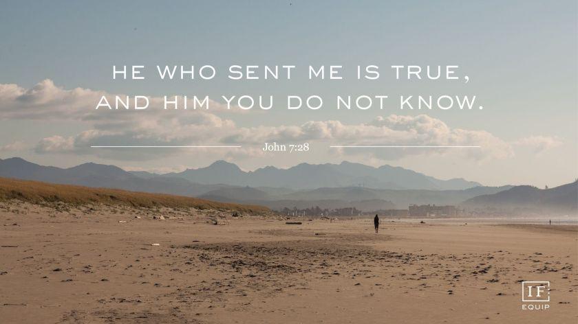 Image result for John 7:28