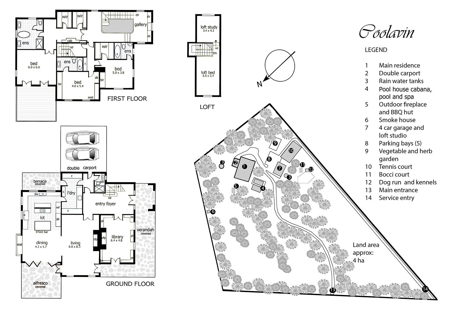 Coolavin Note The Kitchen Layout And That It Leads Into