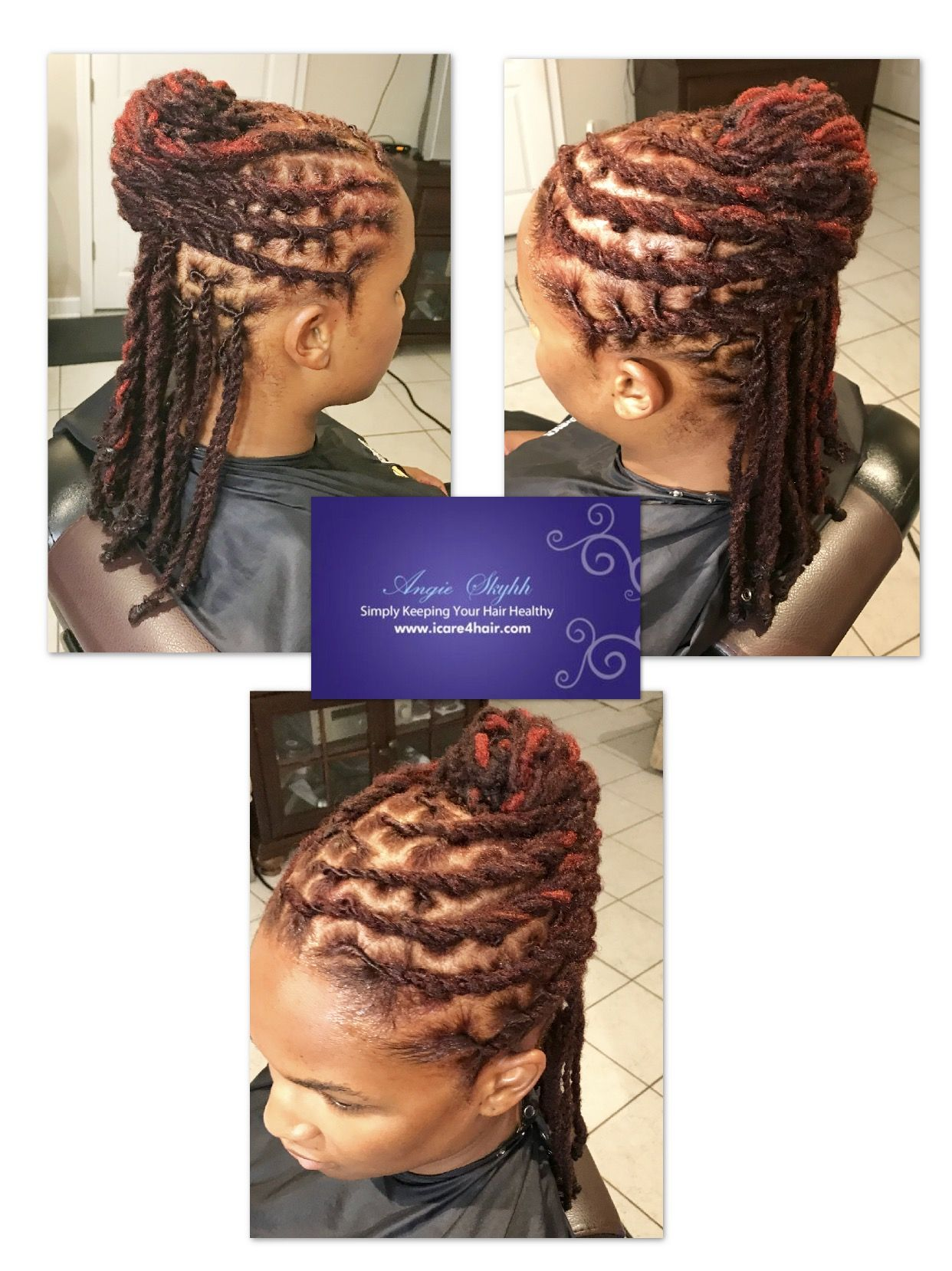 French Rolled Double Strand Twist Go online and Schedule your
