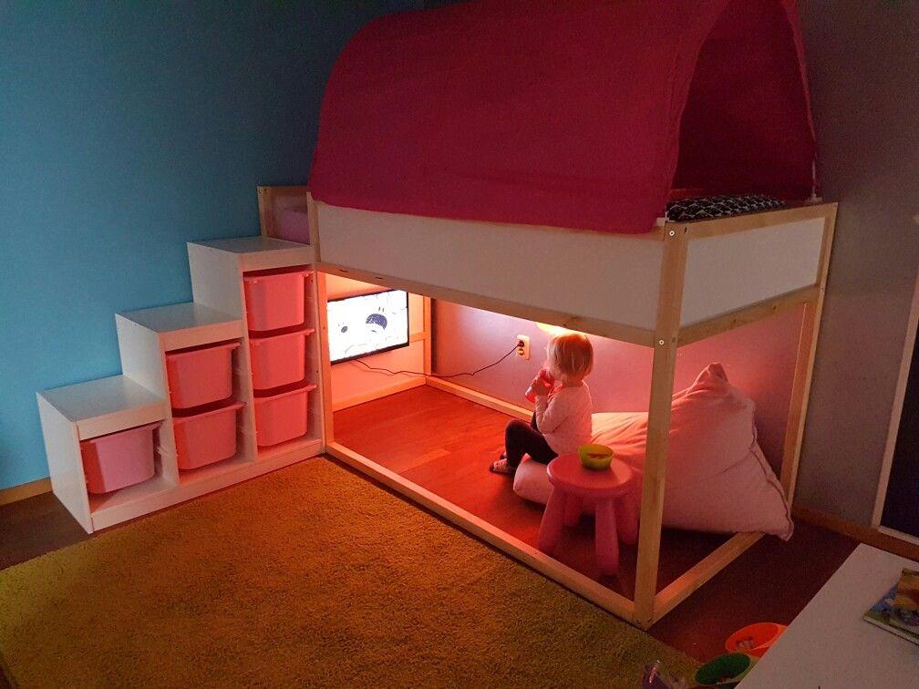 Die besten 25 Ikea hochbett treppe Ideen auf Pinterest