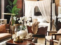 British Colonial Bedroom on Pinterest