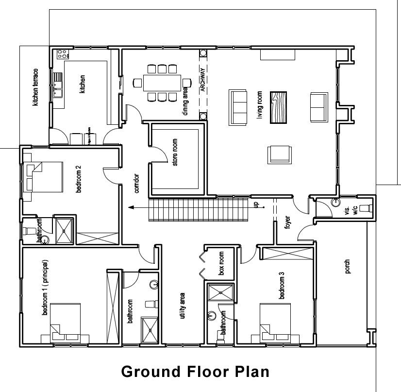 ground floor house plan