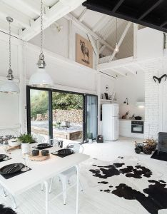 Barn love white  black interiors boooox heritage by oooox via home adore also  and modern moments at pinterest rh za